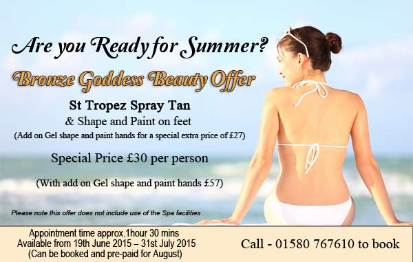 Special Tanning Offer