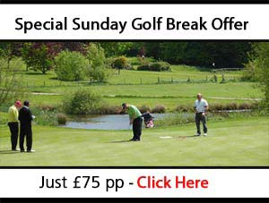 Sunday Golf Break Offer