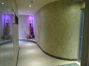 Luxury Spa changing area