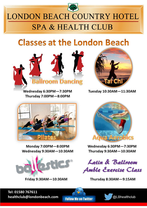 Classes at London Beach