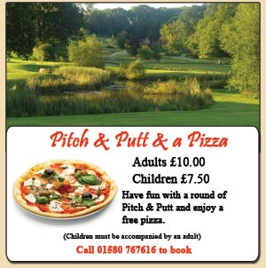 PItch and Putt & a Pizza